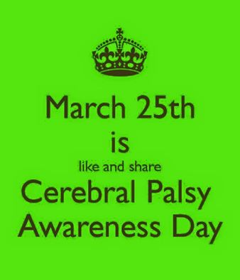 Cerebral Palsy Awareness Day: March 25th | The Bumble Bee Fund