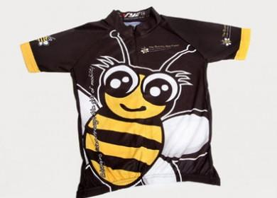 bumble-bee-kids-cycling-shirt